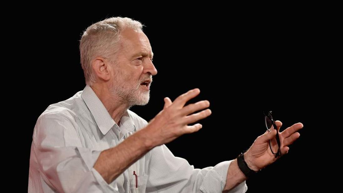 UK Labour Party Leadership Candidate Jeremy Corbyn