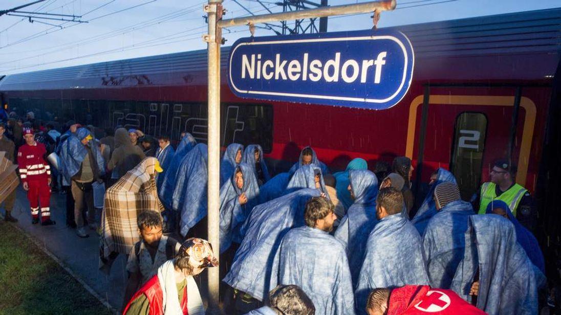 Nickelsdorf station