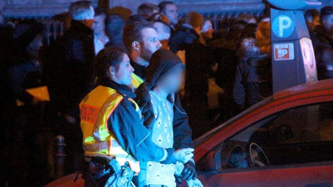 One of the men arrested by police in Cologne on New Year's Eve
