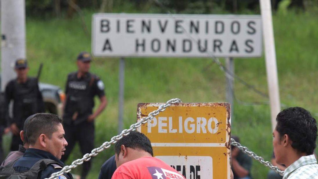 Honduras border