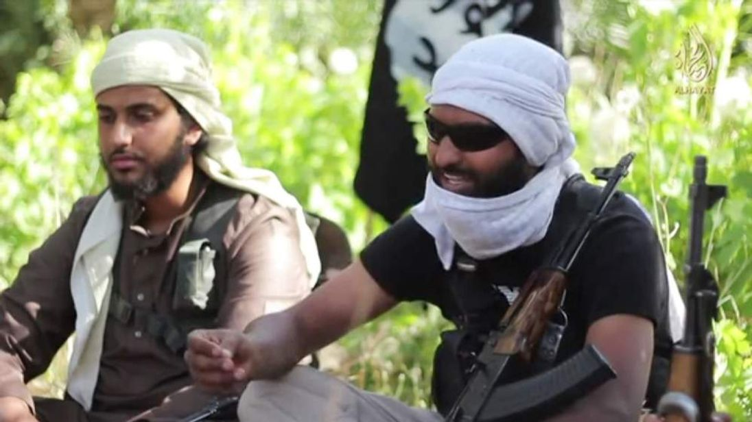 Two jihadists fighting with ISIS in Syria