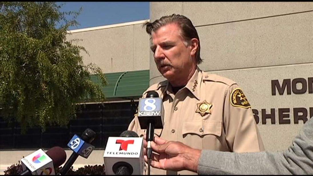 Monterey County Sheriff  Scott Miller