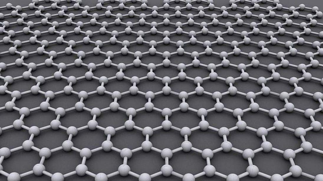 Graphene is an atomic-scale honeycomb lattice of carbon atoms (Pic: AlexanderAIUS)