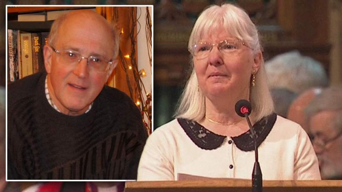 Maureen Greaves, widow of murdered organist Alan Greaves, who was killed on his way to midnight mass on Christmas eve