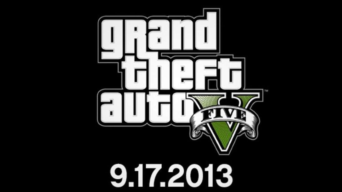 GTA V release date logo