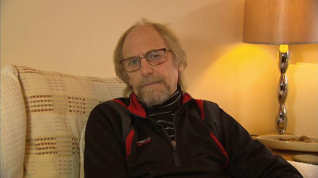 Terry Hammond talks to Sky News about his son's cannabis induced psychosis