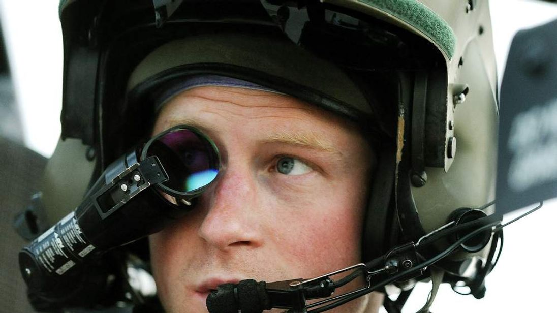 Prince Harry tour of duty in Afghanistan