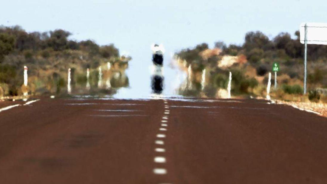 Australia Outback heatwave