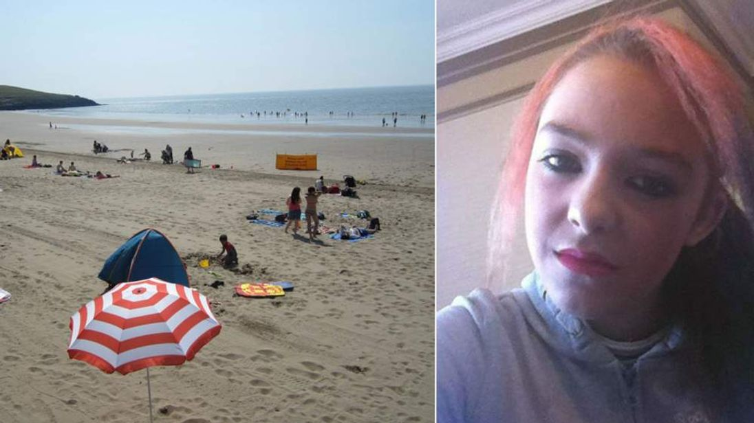 Holly McClymont has been named as the girl who went missing from Barry Island.