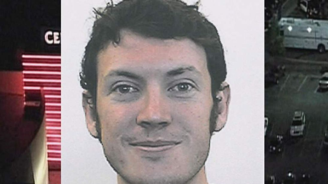 University picture of suspect James Holmes