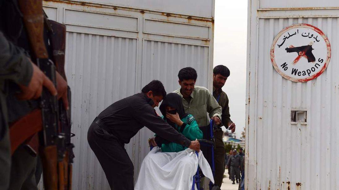 Kabul hospital attack