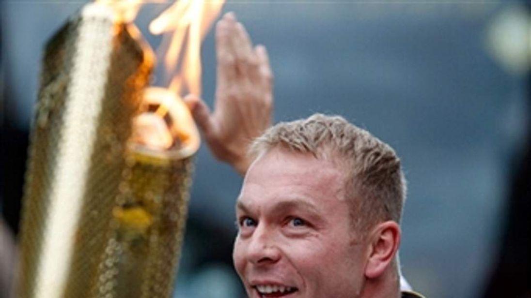 Sir Chris Hoy named as Team GB's Olympic Flag bearer