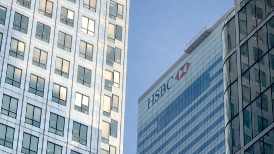 HSBC building, London