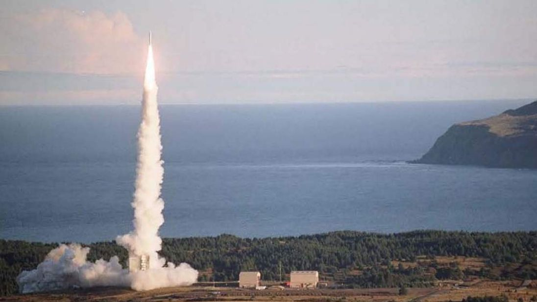 A previous launch of the Advanced Hypersonic Weapon