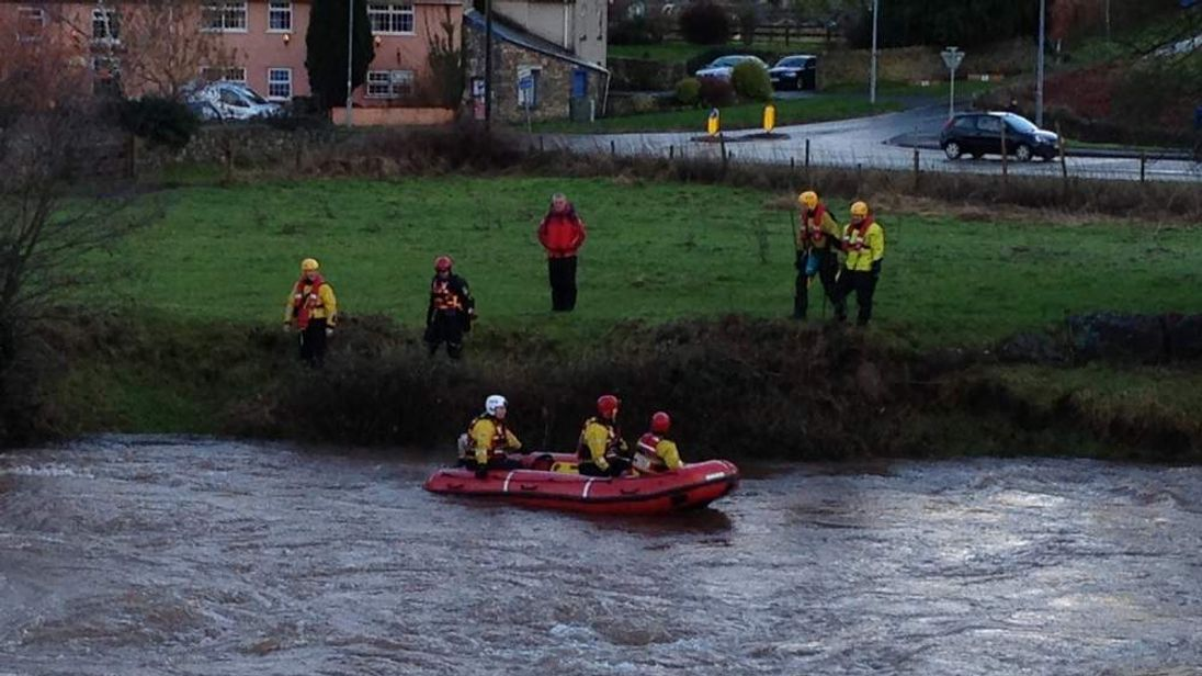 Search for missing kayaker in River Usk in Wales