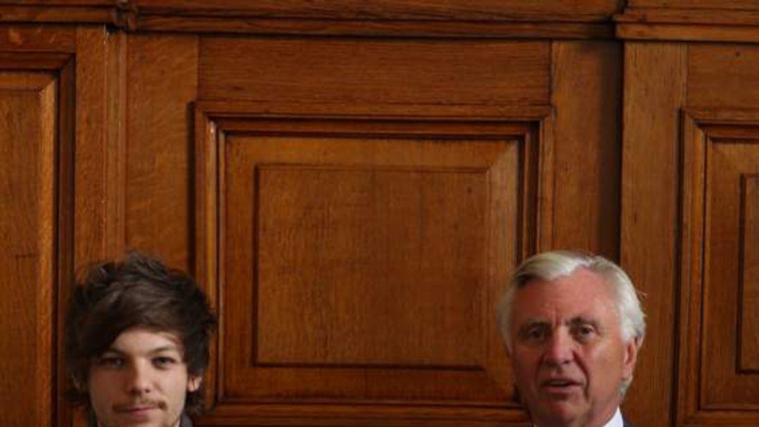 Louis Tomlinson and John Ryan