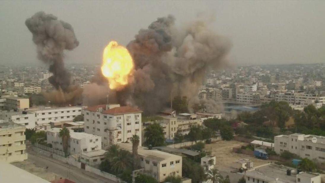 Israeli missile strikes in Gaza