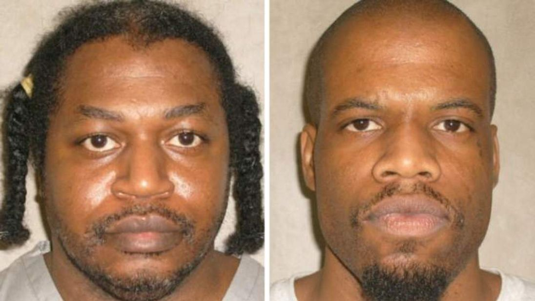 Warner (L) and Lockett are scheduled to be put to death by lethal injection in April 2014