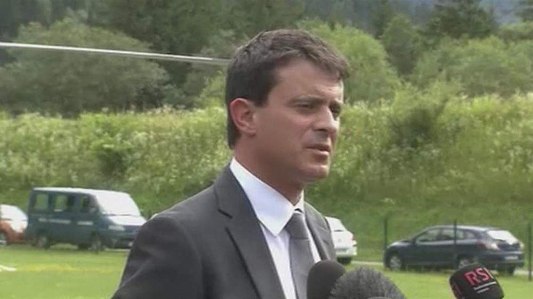 French Interior Minister Manuel Valls