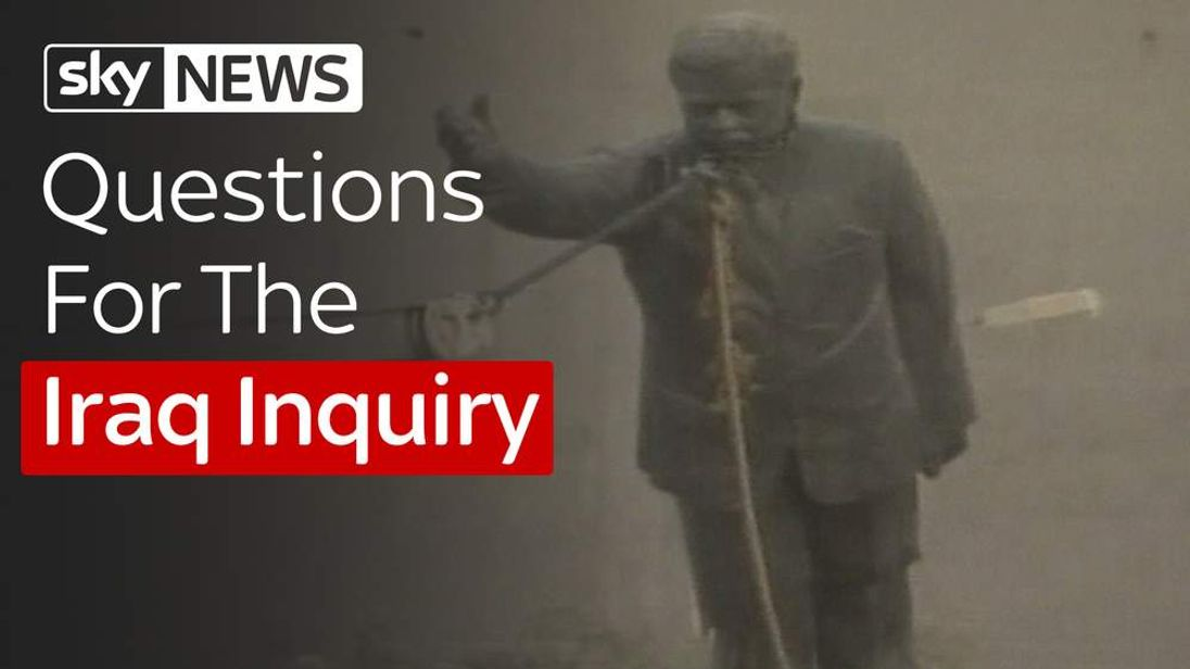 Questions for the Iraq Inquiry