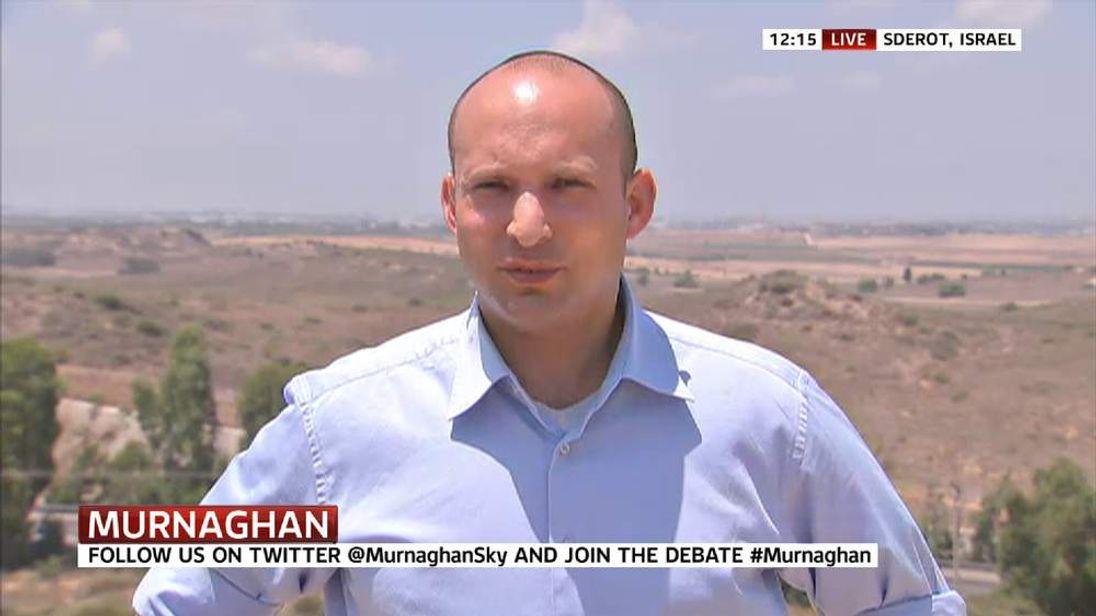 Israel's Economy Minister Naftali Bennett
