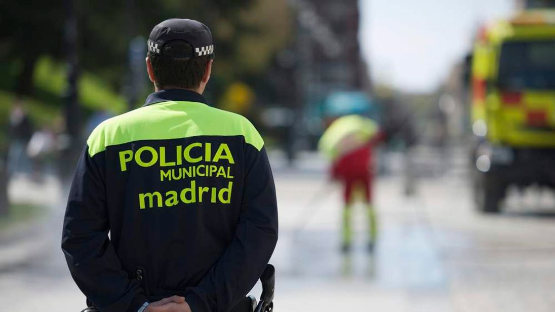 A policeman from Spain