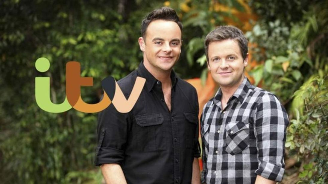 Ant and Dec in an ident for ITV