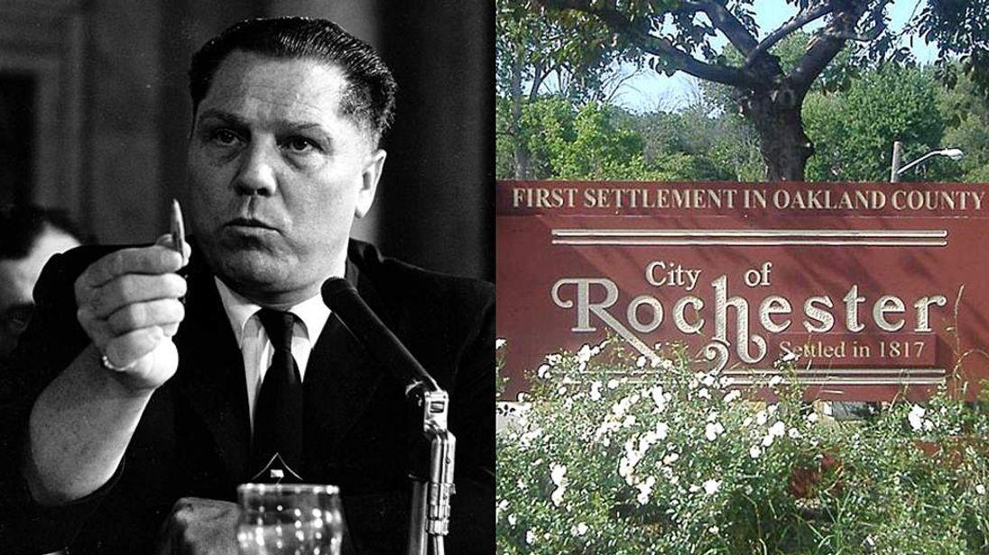 Jimmy Hoffa Buried in Rochester