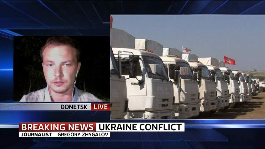 Ukraine journalist Gregory Zhygalov