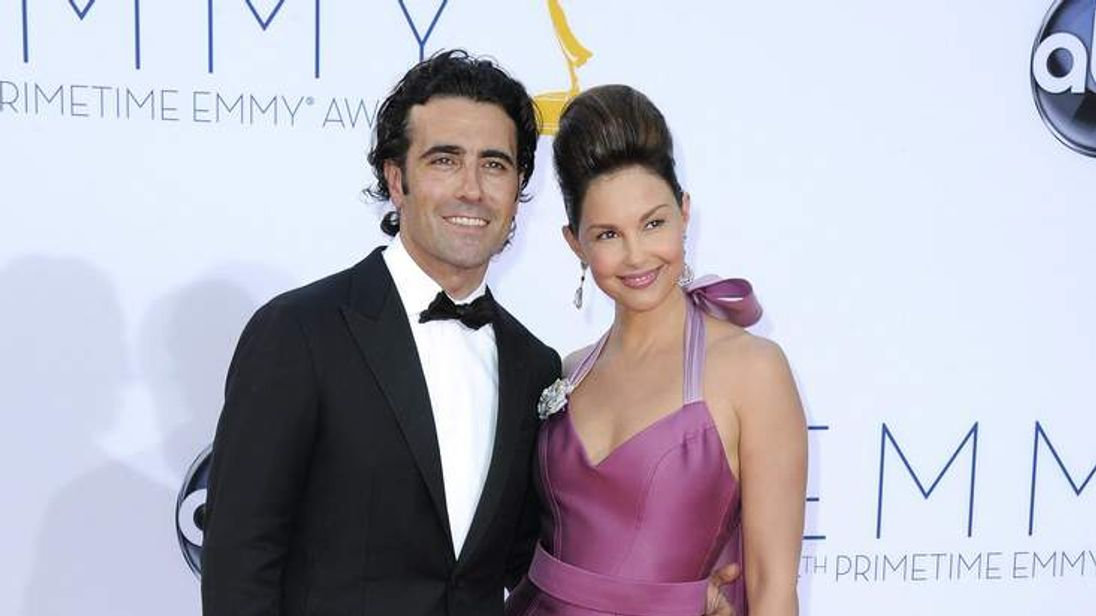 Dario Franchitti and actress Ashley Judd