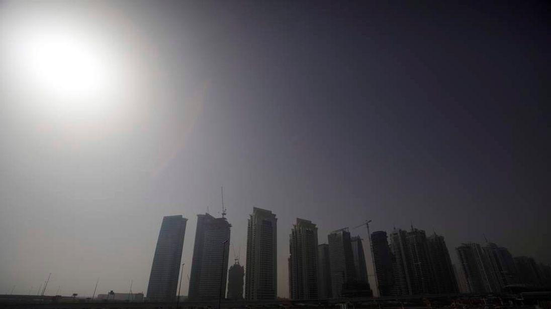 Jumeirah Lake Towers in Dubai