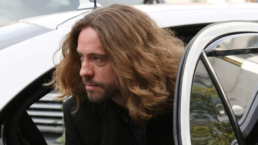 Justin Lee Collins, arrives at St Albans Crown Court in St Albans, Herts, earlier in the week