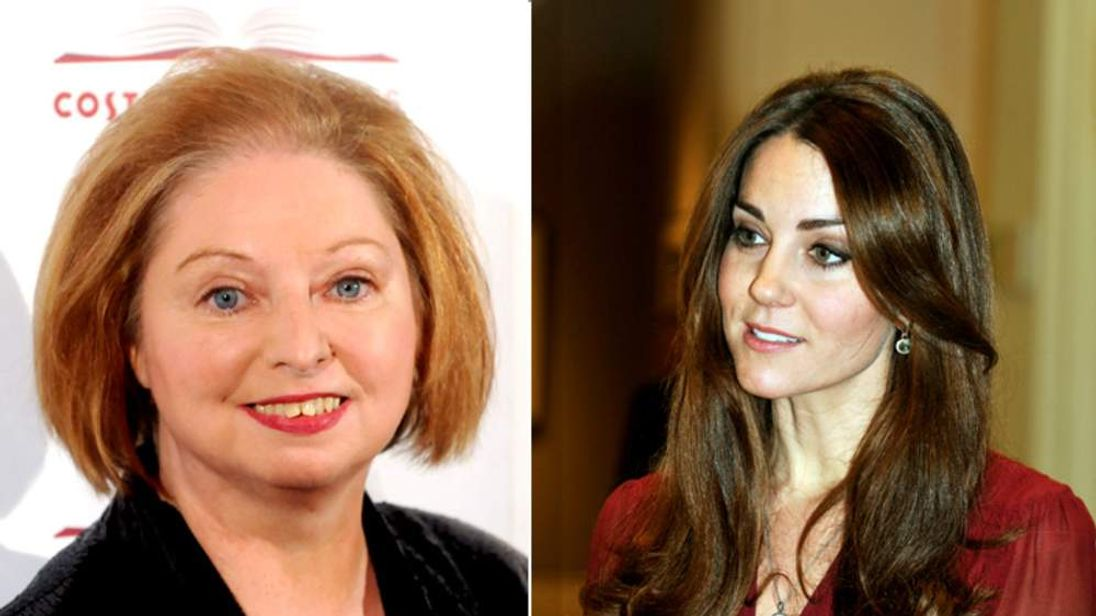 Hilary Mantel and Kate composite
