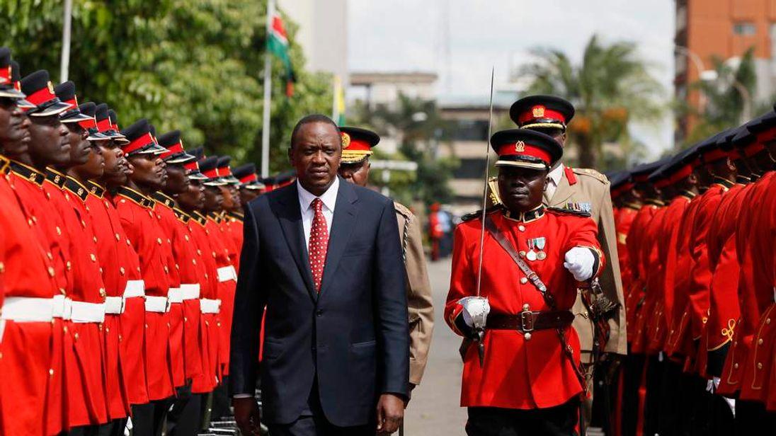 Kenya's President Kenyatta