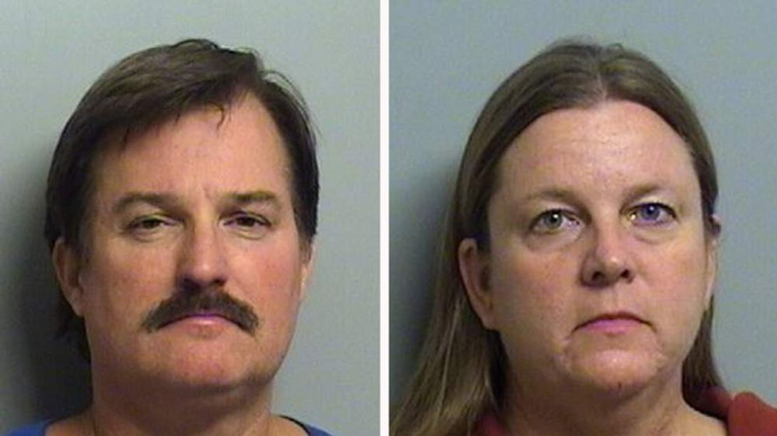 Shannon (L) and Gina Kepler. Pic: Tulsa County Jail