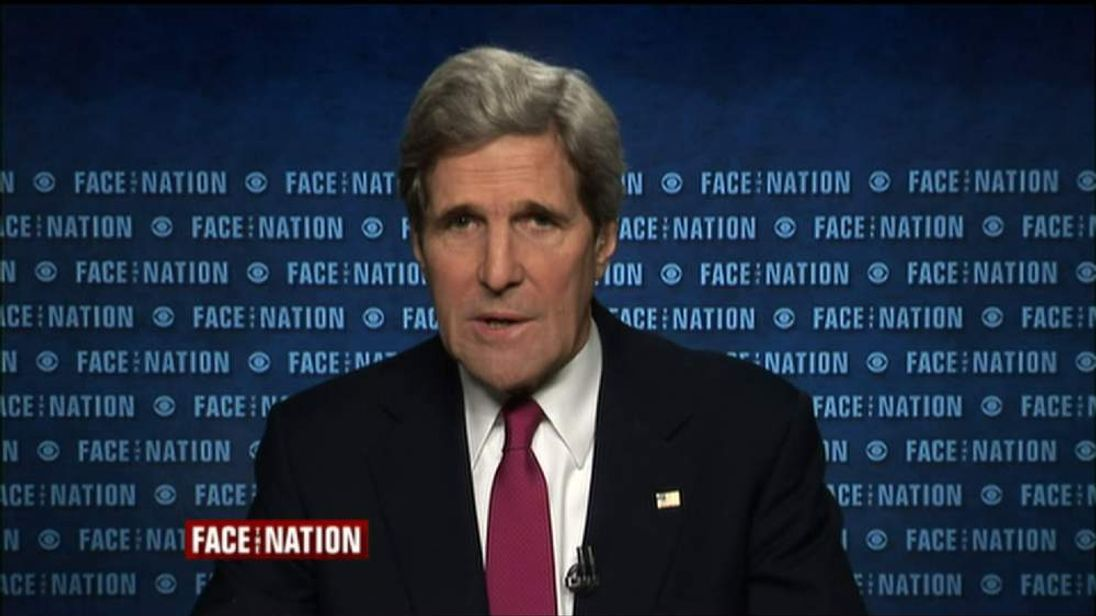 John Kerry on CBS Face The Nation