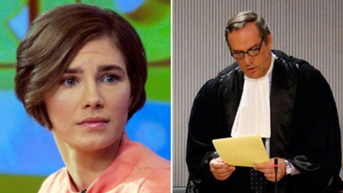 Amanda Knox and Judge Alessandro Nencini