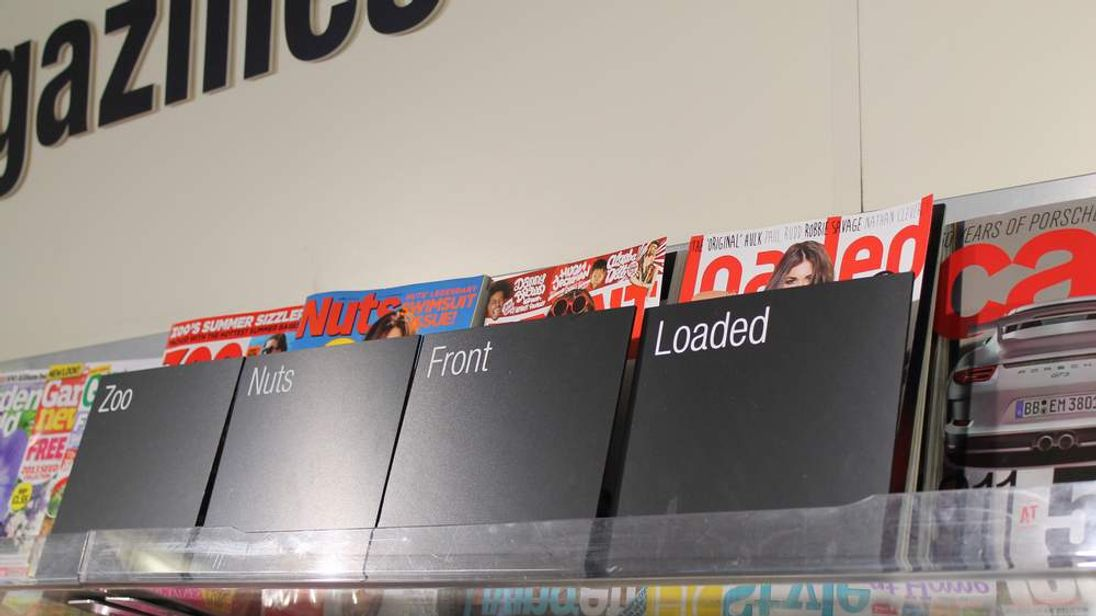 Calls for 'modesty bags' for lads' mags in supermarkets