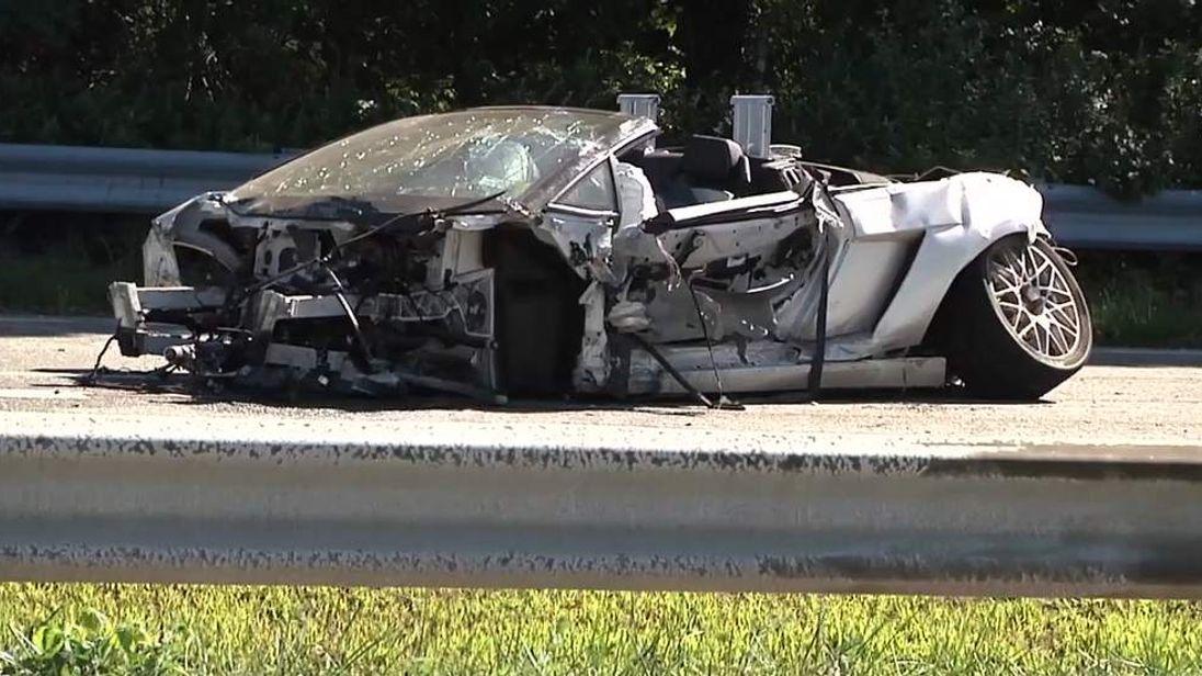 Fatal Lamborghini crash