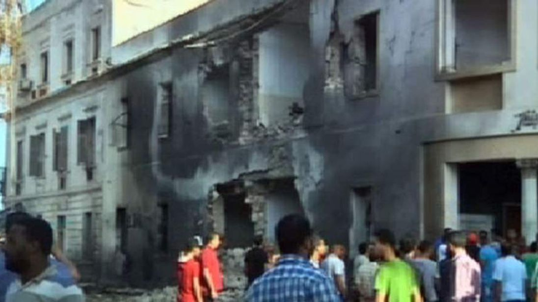 Libya bomb blast 2013