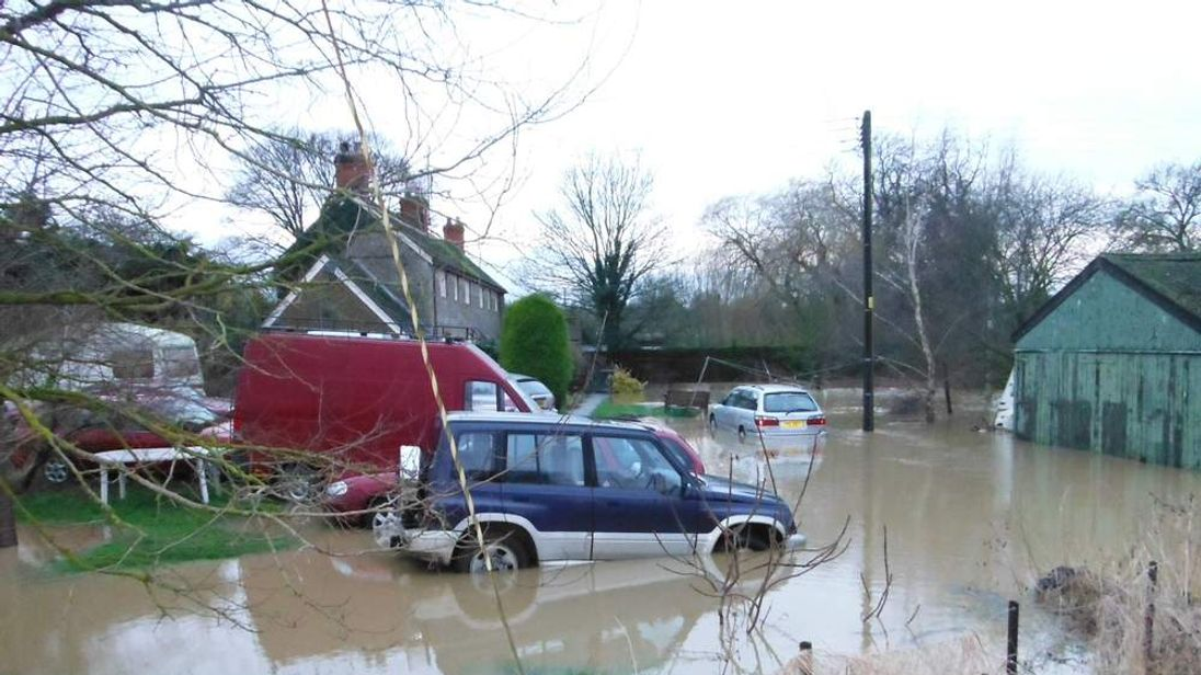 Flooding in Lincolnshire.
