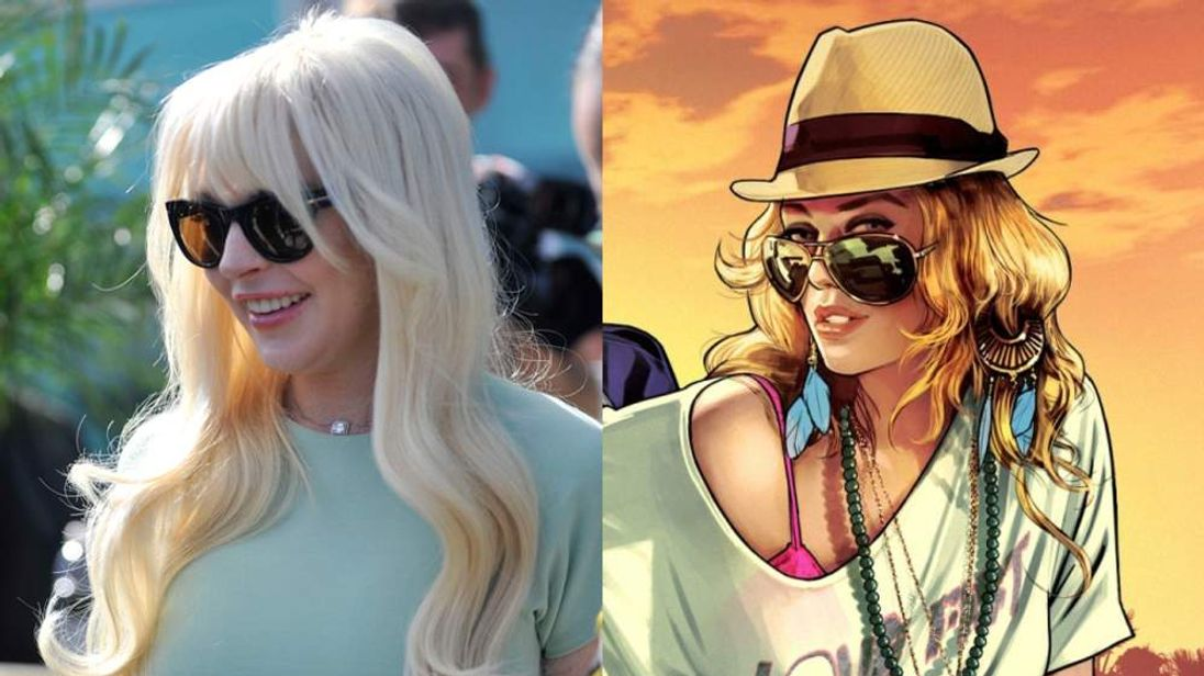 Lindsay Lohan claims GTA character Lacey Jones is modeled on her