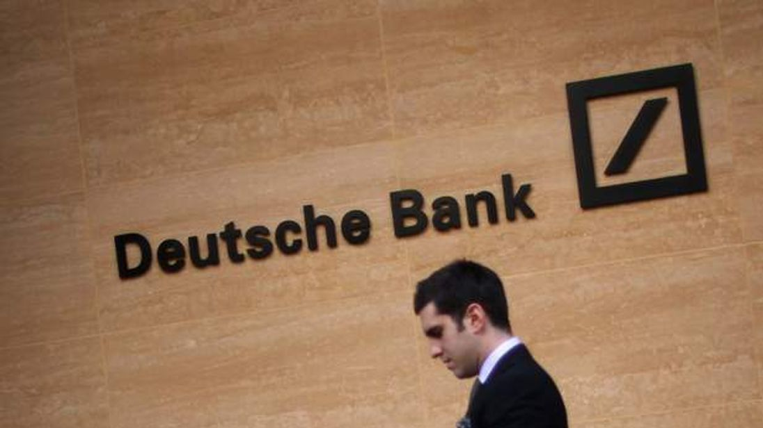 A general view of Deutsche Bank on September 5, 2011 in London, England