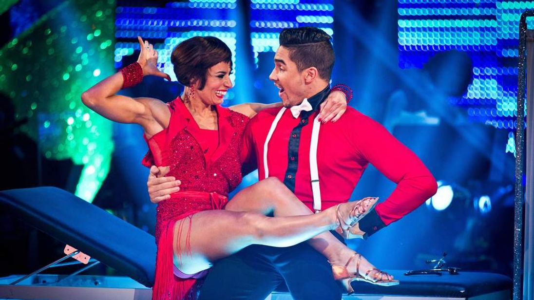 Strictly Come Dancing winners Flavia Cacace and Louis Smith