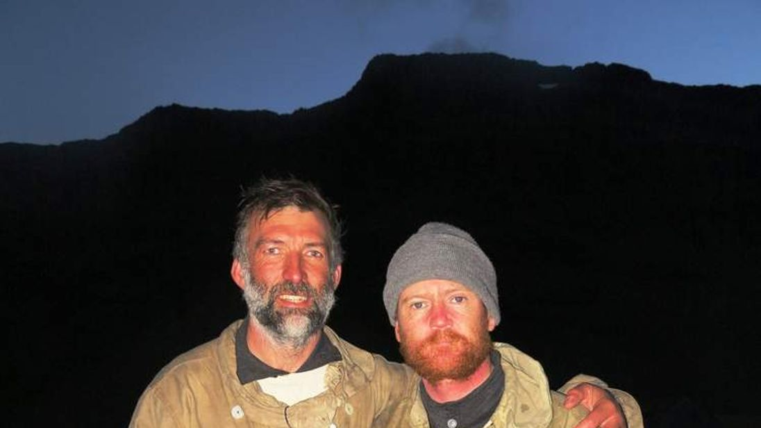 Barry Gray and Tim Jarvis complete Shackleton voyage recreation in Antarctica