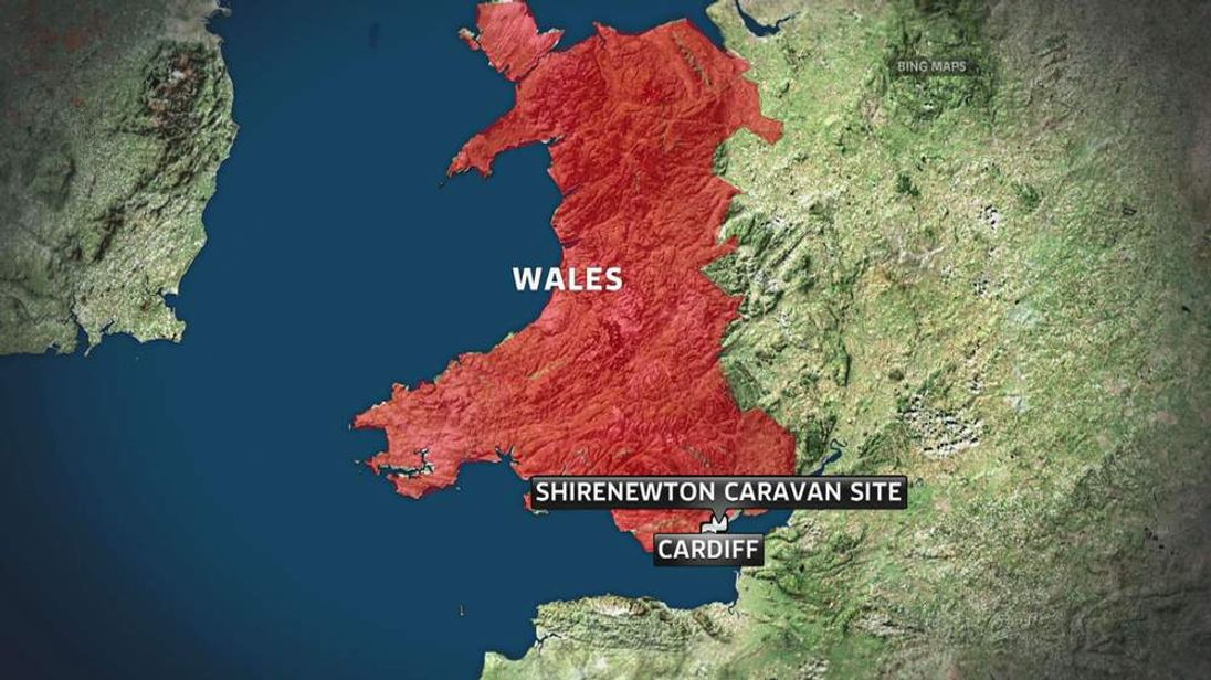 The boy died after he was hit at Shirenewton caravan site