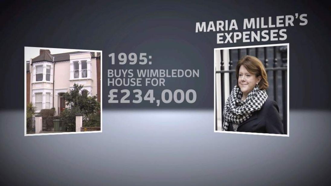 Maria Miller expenses row