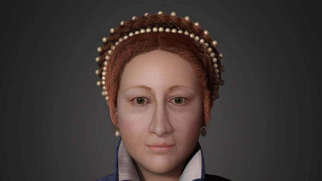 Face of Mary, Queen of Scots