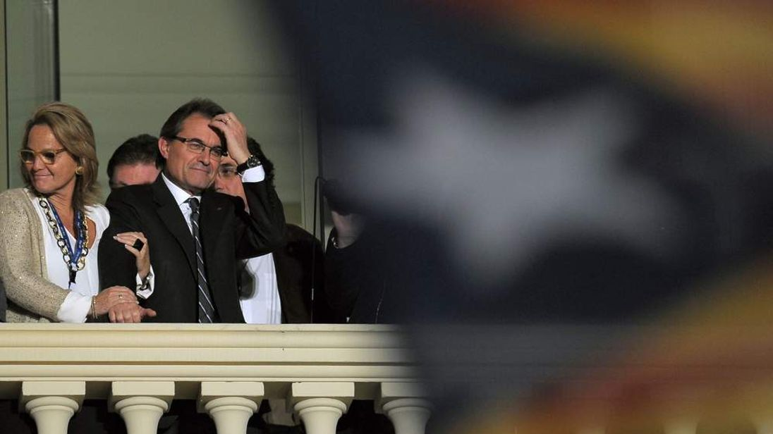 Artur Mas, current President of Catalonia and leader of the CiU