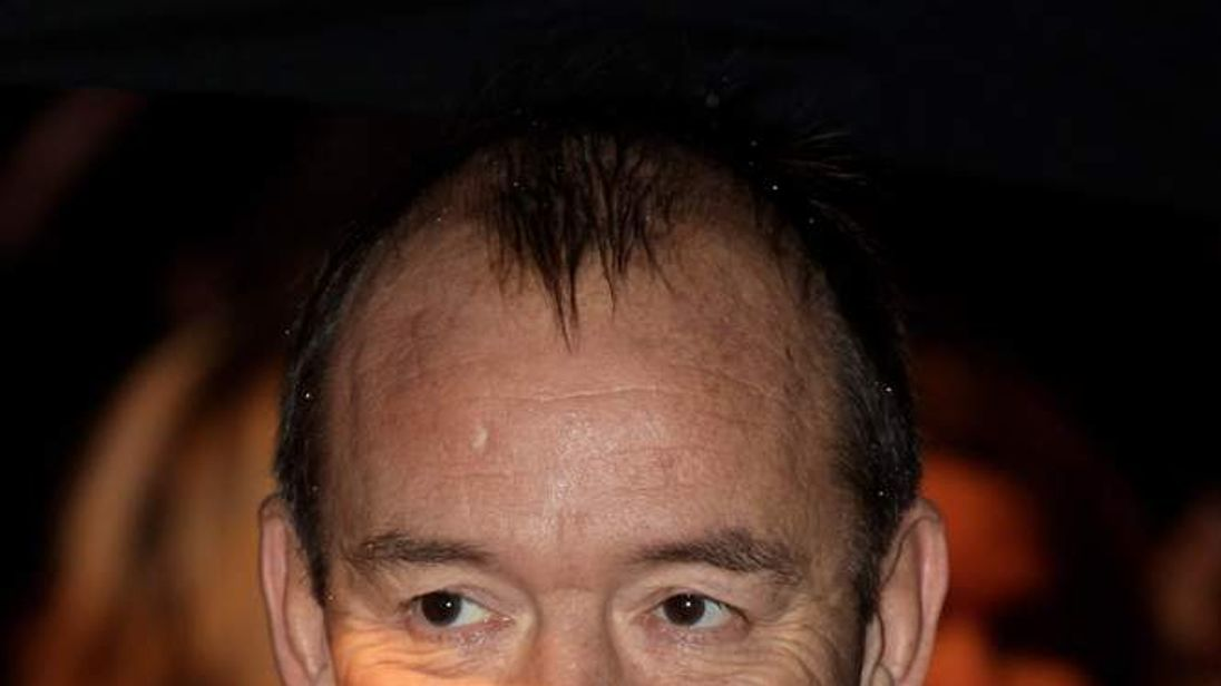 Actor and comedian Mel Smith